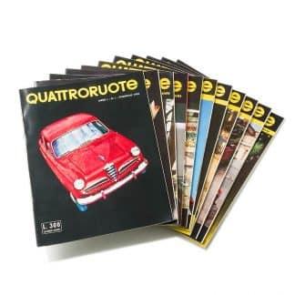I primi 11 numeri di Quattroruote del 1956-0