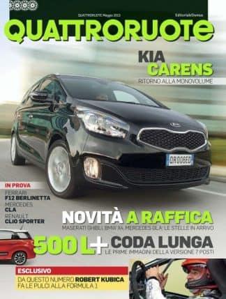 Quattroruote Maggio 2013-0