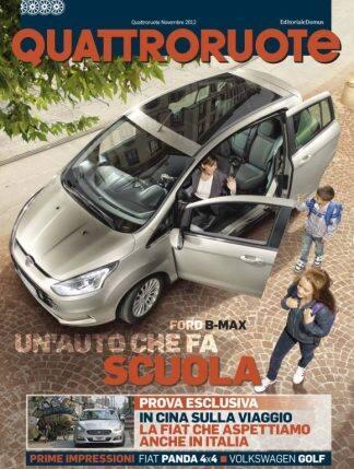 Quattroruote Novembre 2012-0