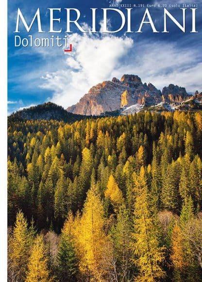MERIDIANI N°191 DOLOMITI 08/2010-0