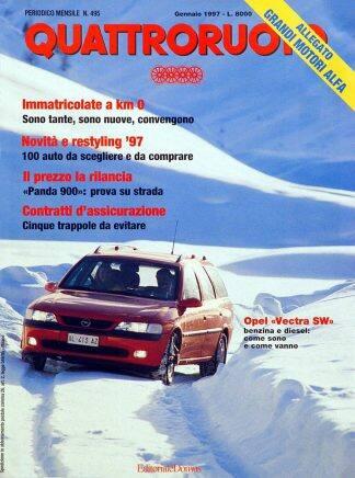 Quattroruote N. 0495 gennaio 1997-0