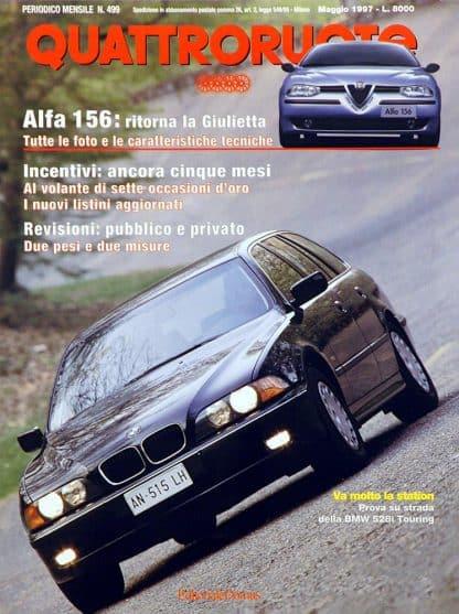 Quattroruote N. 0499 maggio 1997-0