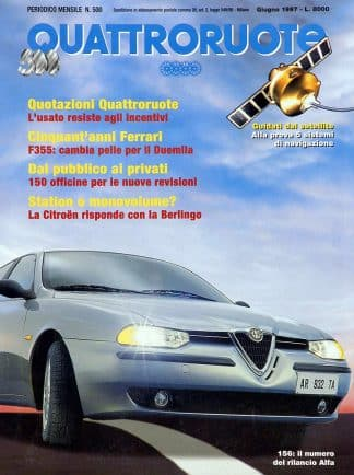 Quattroruote N. 0500 giugno 1997-0