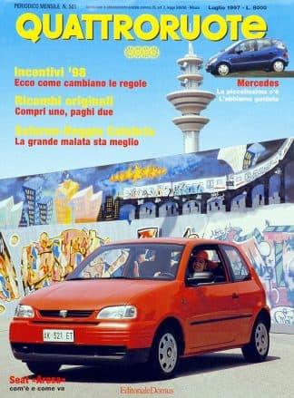 Quattroruote N. 0501 luglio 1997-0