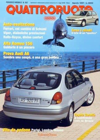 Quattroruote N. 0502 agosto 1997-0