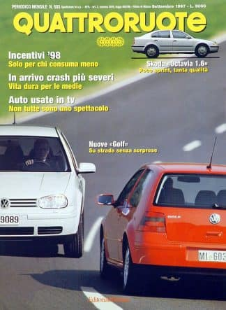 Quattroruote N. 0503 settembre 1997-0