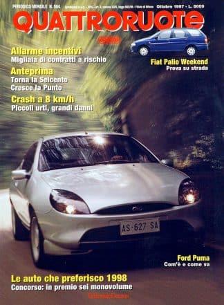 Quattroruote N. 0504 ottobre 1997-0