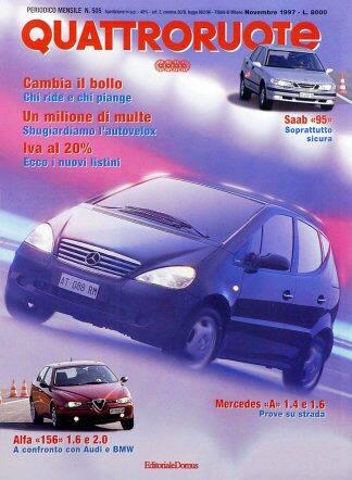 Quattroruote N. 0505 novembre 1997-0