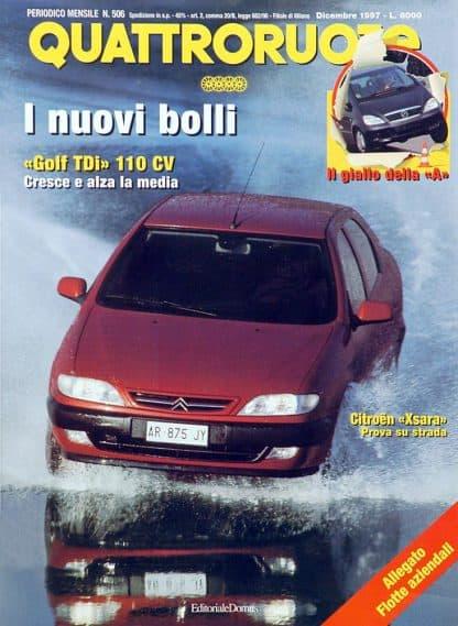 Quattroruote N. 0506 dicembre 1997-0