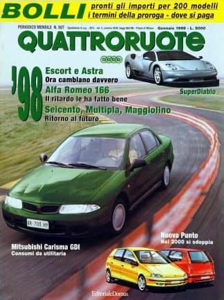 Quattroruote N. 0507 gennaio 1998-0