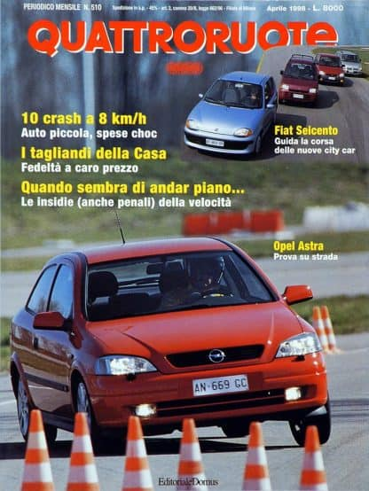 Quattroruote N. 0510 aprile 1998-0