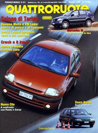 Quattroruote N. 0511 maggio 1998-0