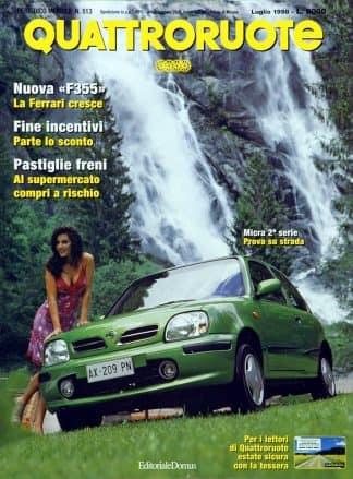 Quattroruote N. 0513 luglio 1998-0