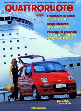 Quattroruote N. 0514 agosto 1998-0