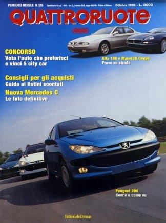Quattroruote N. 0516 ottobre 1998-0