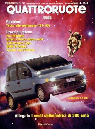Quattroruote N. 0518 dicembre 1998-0