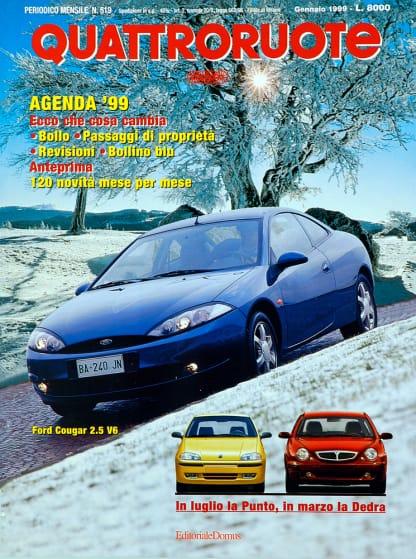 Quattroruote N. 0519 gennaio 1999-0