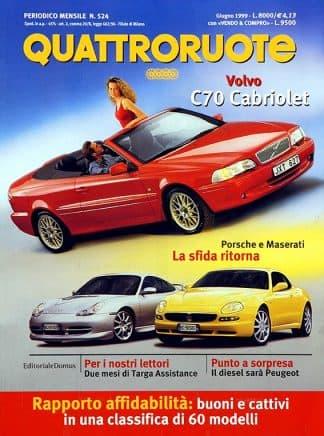 Quattroruote N. 0524 giugno 1999-0