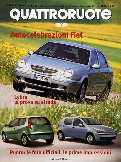 Quattroruote N. 0525 luglio 1999-0