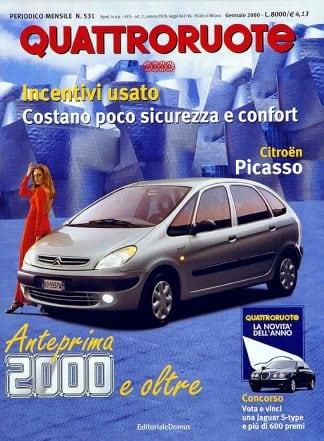 Quattroruote N. 0531 gennaio 2000-0