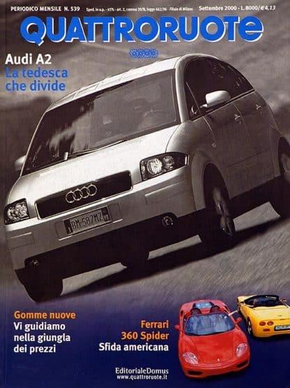 Quattroruote N. 0539 settembre 2000-0
