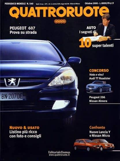 Quattroruote N. 0540 ottobre 2000-0