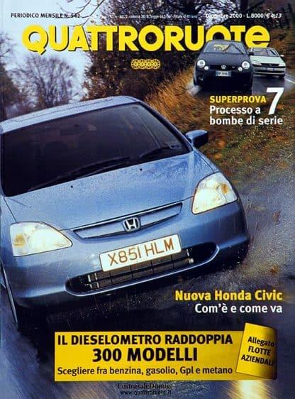 Quattroruote N. 0542 dicembre 2000-0