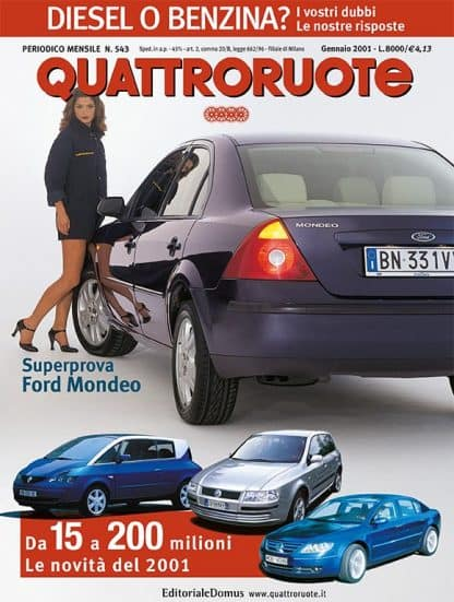 Quattroruote N. 0543 gennaio 2001-0