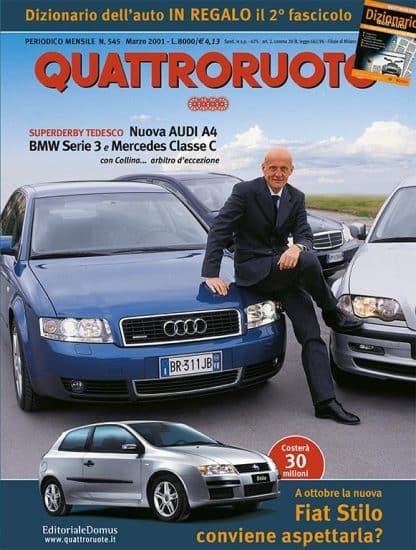 Quattroruote N. 0545 Marzo 2001-0