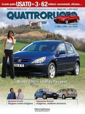 Quattroruote N. 0547 Maggio 2001-0