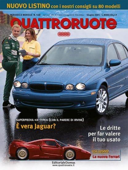 Quattroruote N. 0548 Giugno 2001-0