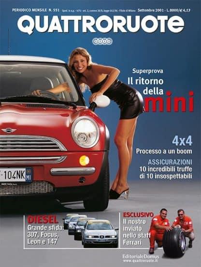 Quattroruote N. 0551 Settembre 2001-0