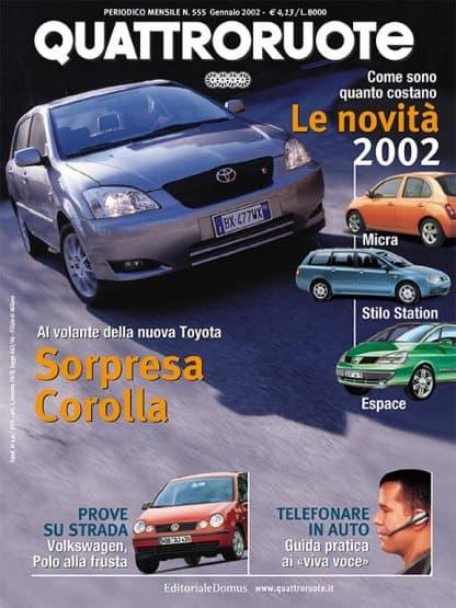Quattroruote N. 0555 gennaio 2002-0