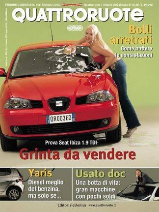 Quattroruote N. 0556 febbraio 2002-0
