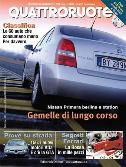 Quattroruote N. 0557 Marzo 2002-0