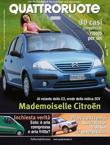 Quattroruote N. 0558 Aprile 2002-0