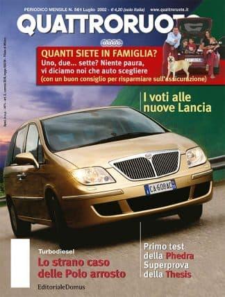 Quattroruote N. 0561 Luglio 2002-0