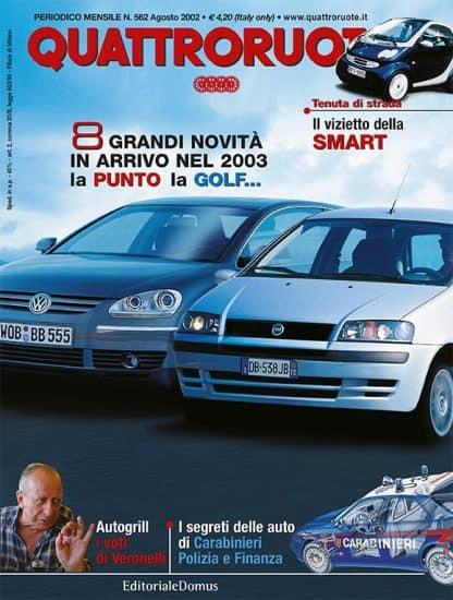 Quattroruote N. 0562 Agosto 2002-0