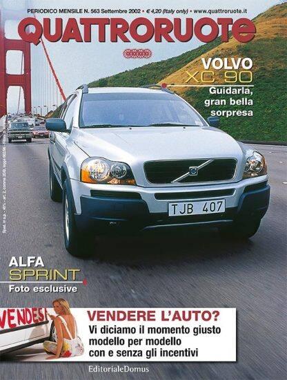 Quattroruote N. 0563 Settembre 2002-0