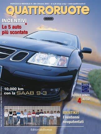 Quattroruote N. 0564 ottobre 2002-0