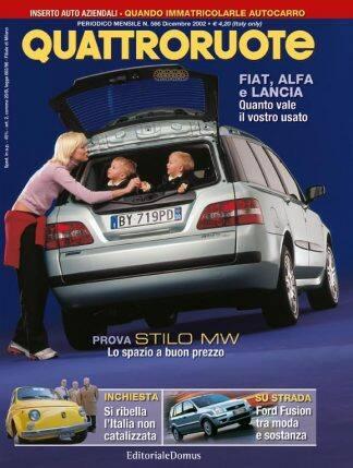 Quattroruote N. 0566 Dicembre 2002-0