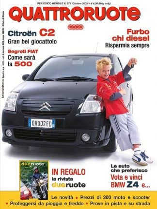 Quattroruote N. 0576 ottobre 2003-0