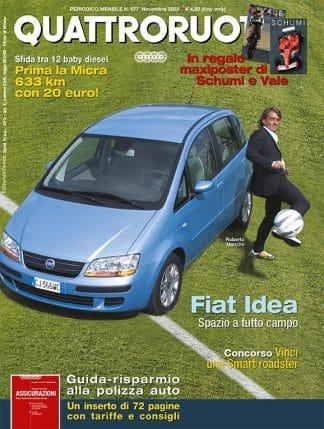 Quattroruote N. 0577 Novembre 2003-0