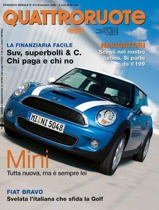 QUATTRORUOTE N. 0613 novembre 2006-0