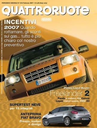 QUATTRORUOTE N. 0616 FEBBRAIO 2007-0