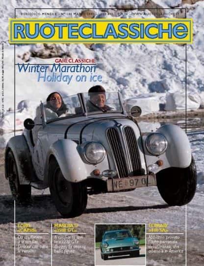 RUOTECLASSICHE N. 0148 marzo 2001-0