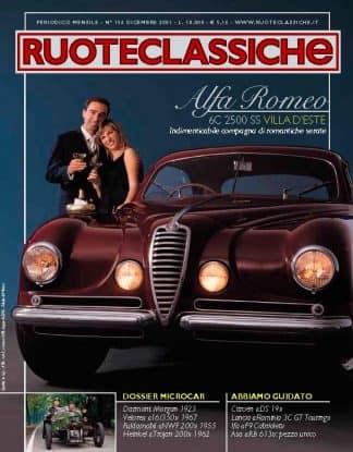 RUOTECLASSICHE N. 0156 dicembre 2001-0