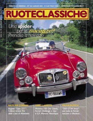 RUOTECLASSICHE N. 0163 luglio 2002-0