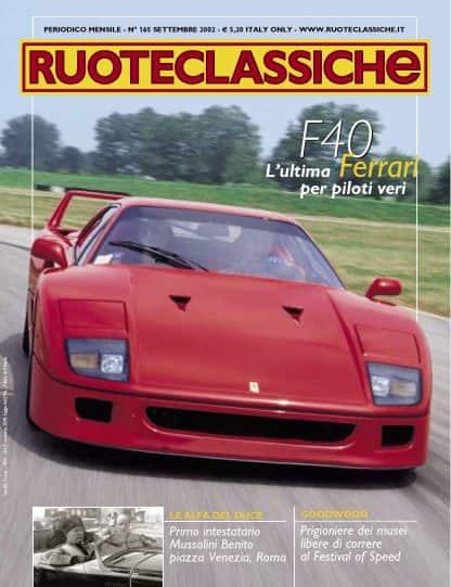 RUOTECLASSICHE N. 0165 settembre 2002-0