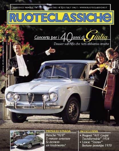 RUOTECLASSICHE N. 0166 ottobre 2002-0